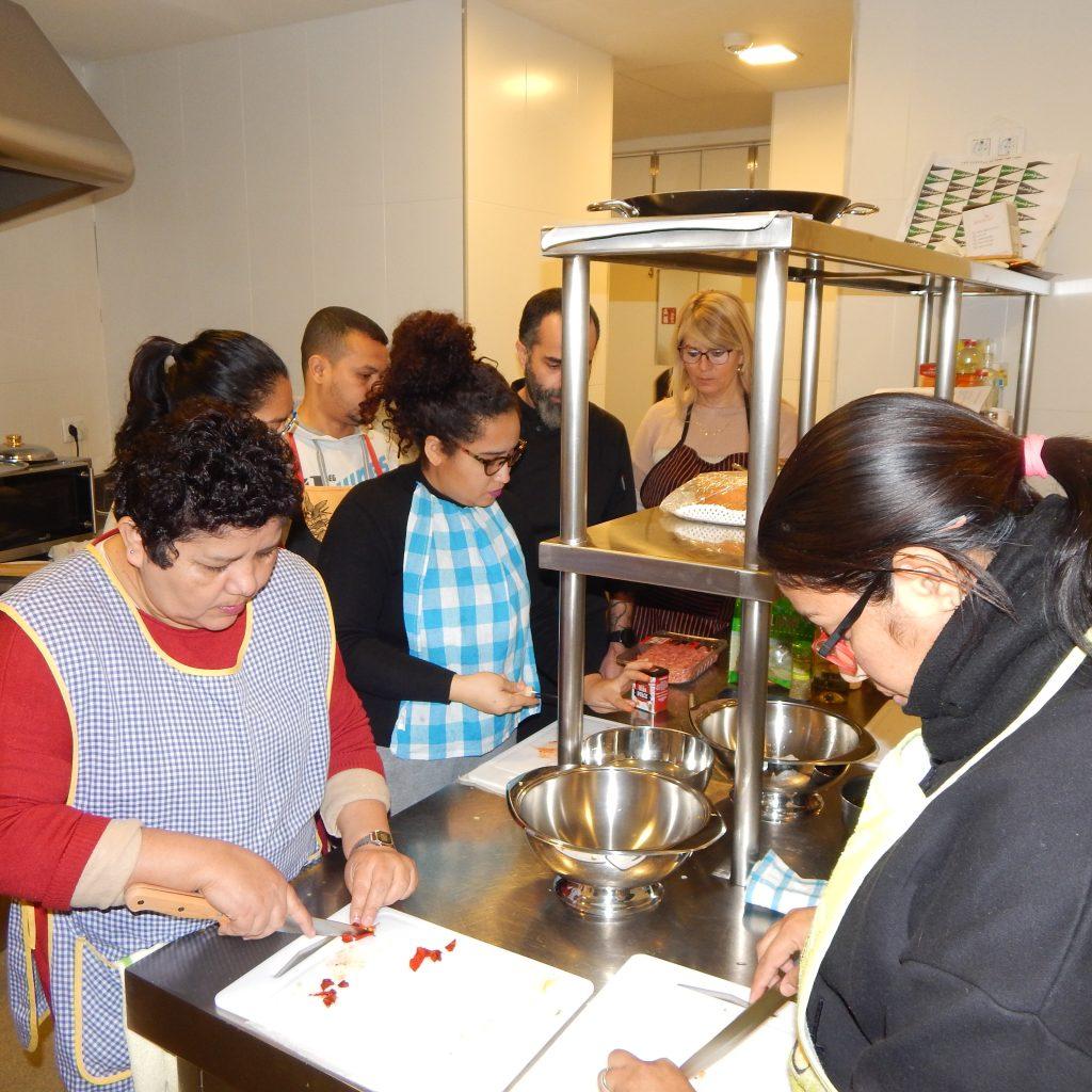 Persones participants en el curs de cuina mediterrània