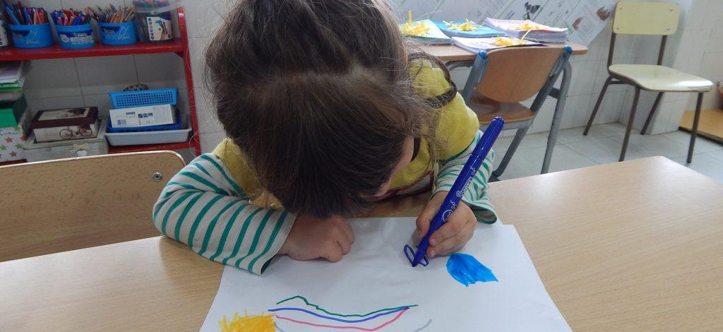 Infant dibuixant